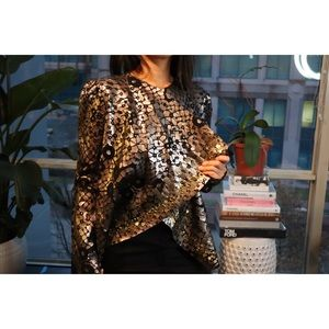 DVF JACKET WITH SEQUINS DETAILS